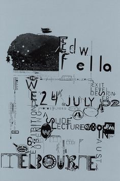 #poster #typography #graphic #edfella