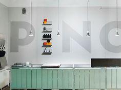 Pino enviro graphics, Bond Design #type #wall