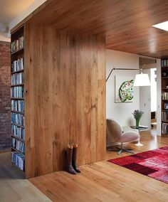 In the Loop - Slideshows - Dwell #interior #wood #architecture