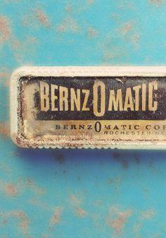 Type Hunting #bernzomatic #logo