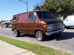BROWN #brown #chevy #vannin