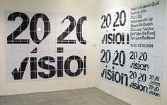 SMCS / Title walls - Experimental Jetset #exhibition #jetset #experimental #posters