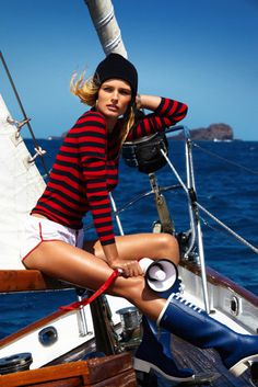 Edita Vilkeviciute by Gilles Bensimon for Vogue Paris