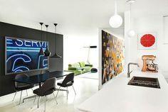 Apartment in Boston by Over,Under - #decor, #interior, #homedecor