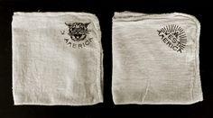 STUDIO #caleb #fabric #mascot #white #america #w #& #black #logo