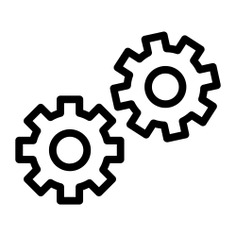 See more icon inspiration related to gear, three, industry, gears, settings, configuration, wheels, business and finance, cogwheels, construction and tools, Tools and utensils, transportation and interface on Flaticon.