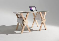 Analog Memory Desk in defringe.com #memory #analog #design #defringe #product #desk #defringecom