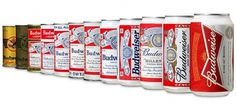 Budweiser Rocks the Bowtie - Brand New #packaging #evolution
