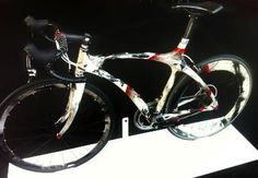 Amazing Sumi Ink Dye bicycle by Ted Lincoln 2012 #lincoln #gallery #ted #chance #aleatoric #art #accidental