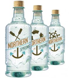 . #bottle #packaging #northern #design #spring