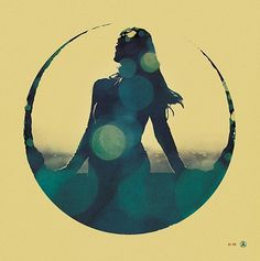 FFFFOUND! #radical #lense #flair #silhouette