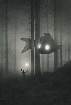 Explore Dawid Planeta's Mystical World of Bright-Eyed Animal Guides