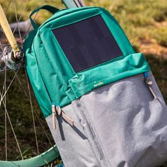 The new Boost Solar Backpack that allows you to charge your digital equipments anywhere you go. #design #product #industrial