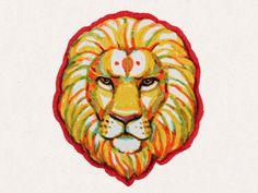 Lion #clothes #lion #drawing #hand #shirt #illustration #wear #art #animal