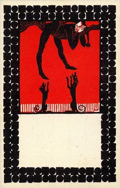 Twenty Postcards of the Wiener Werkstätte - 50 Watts #postcard