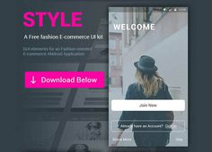 Style e-commerce Ui Kit