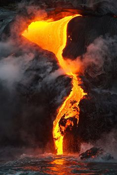 Lava. #burning #lava #heat #molten #hot #nature