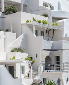 Full Renovation and Redesign of the Porto Fira Suites in Santorini #architecture