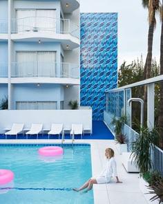 Standard Hotel Tile Mural