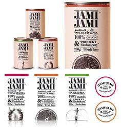 Polskie wzornictwo Jami Jami opakowanie Krzysztof Zdunkiewicz #zdunkiewicz #jam #print #fruit #package #typography