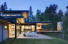 Sustainable Mountain House in Western Montana 18