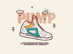 Inflation #legend #pump #line #oconnell #icon #james #illustration #anonymousmag #basketball #reebok