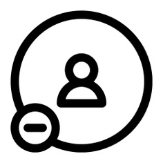 See more icon inspiration related to account, unfriend, friend, delete friend, substract, user, minus, social media, delete, technology and social on Flaticon.