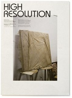 High Resolution - Experimental Jetset #print #publication #typography