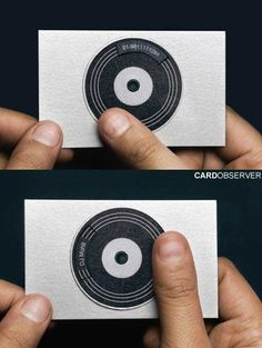 Dj #record #card