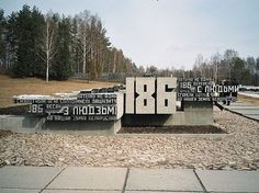 All sizes | Belarus- Khatyn | Flickr - Photo Sharing! #sign #sculpture #belarus #typography