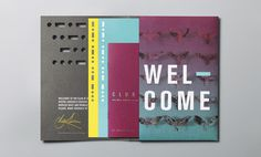 Club at South Place #hotel #branding #collateral #color