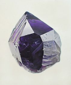 W:Blut #stone #rock #gem #purple #facet