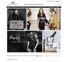 DAY Birger et Mikkelsen — AW10/11 Website on Web Design Served #white #design #black #grid #and #web