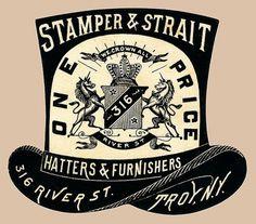 Stamper & Strait | Sheaff : ephemera #illustration #typography