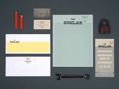 The Sinclair Stationary #identity #sinclair