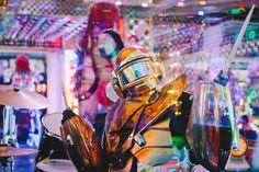 http://yves-laroque.squarespace.com/ #robot #restaurant #tokyo #photography #japan