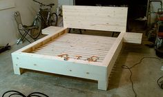 Bedframe joinery