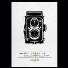 Instagram #camera #print #design #letterpress #illustration #graphics