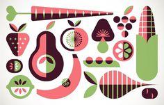 Lab Partners #illustration #fruit #vegetables
