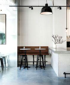 Scandinavian Inspired Minimalist Restaurant Decor - #restaurant, restaurant, #restaurantdesign, #decor, #interior, interior design