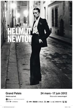 Lucire Living: A new take on Newton – The global fashion magazine #white #woman #newton #helmut #black #photography #poster #and #suit #typography