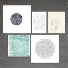 MINTED Inspired Art Challenge #draw #abstract