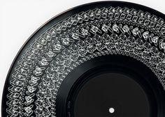 Vinyl cover | THE THIRD VOID #cover #vinyl #design #graphic