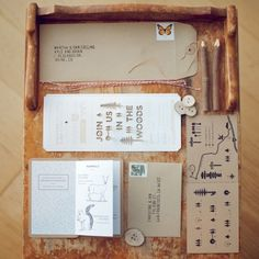 (1) Tumblr #die #cut #handcrafted #print #design #wood #natural #brown #package