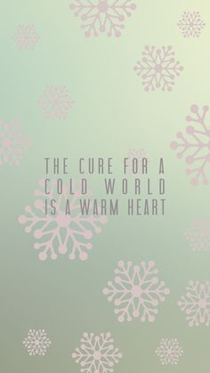 Warm Hearts poster.