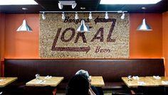 LoKal Burgers & Beer - Camilorojas #beer #cork #stain