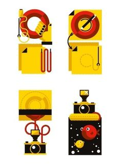 Wired Magazine [ITA] | How To on the Behance Network #goran #camera #icons
