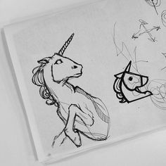 Francisco J Hernandez / Portfolio #illustration #horse #unicorn