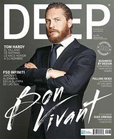 DEEP #script #cover #drawn #hand #magazine