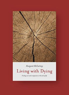 book cover - living with dying